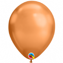 Chrome Balloons - Copper Chrome Balloons (25pcs) 11 Inch